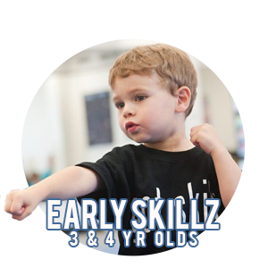 Early Skillz Martial arts in Portland and Beaverton - Five Rings Jiu Jitsu